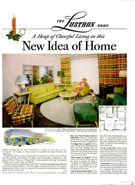 Lustron Homes, LIFE Dec 13, 1948