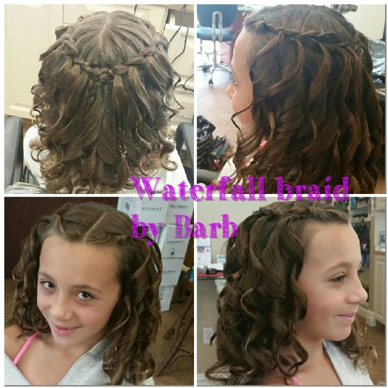 Waterfall braid by Barb