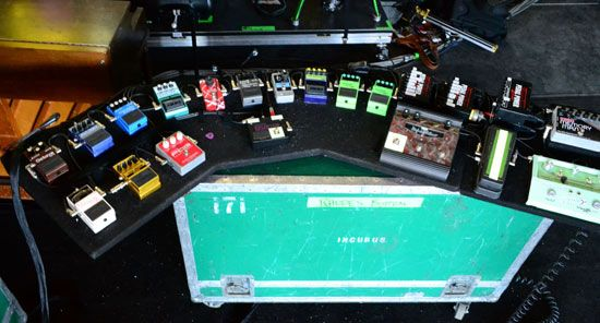 Incubus Mike Einzinger Pedalboard Picture From