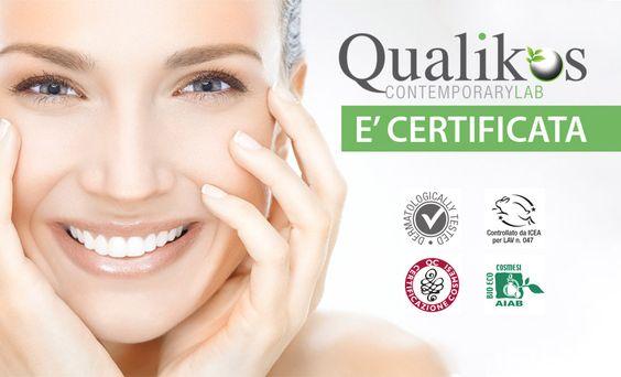 I prodotti #Qualikos sono 100% BIO, certificati da ICEA - Istituto Certificazione Etica e Ambientale, da AIAB - Associazione Italiana per l'Agricoltura Biologica, da @QCertificazioni e sono testati dermatologicamente e noi li spediamo direttamente a casa tua :)  #bellezza #madeinitaly