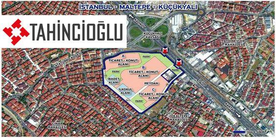 Tahincioğlu Gayrimenkul, Emlak Konut GYO'nun Maltepe Küçükyalı'da yer alan 114 bin 239 metrekarelik ...