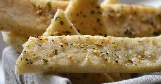 Curulina: Pizza de Ajo y Aceite de Oliva