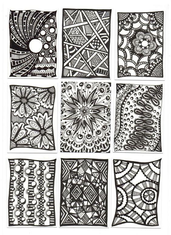 zentangle patterns , Google Search