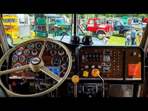 How To Shift Two Stick 6 4 Spicer Transmission Peterbilt 359 Youtube Peterbilt 359 Peterbilt 359 Peterbilt