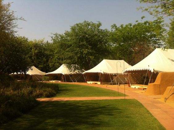 Tent layout, Sher Bagh