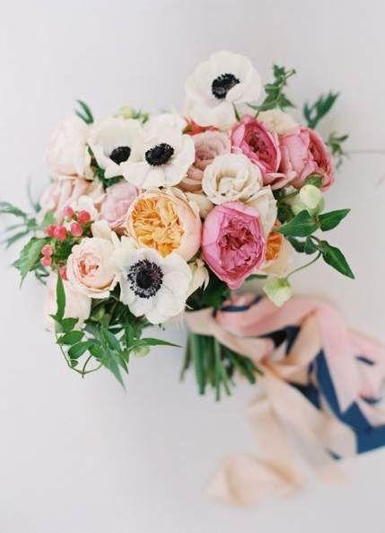 49 Trendy Wedding Bouquets Anemone Colour