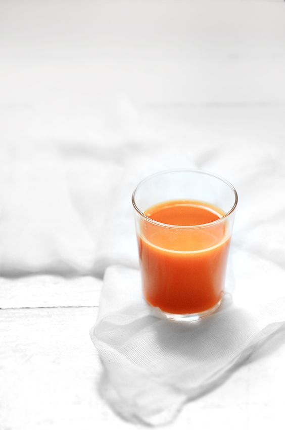 When did you drink your last glass of a carrot juice?