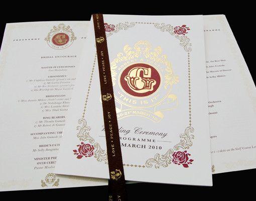 #Room13 #crest #wedding #invitation #foil #gold #design