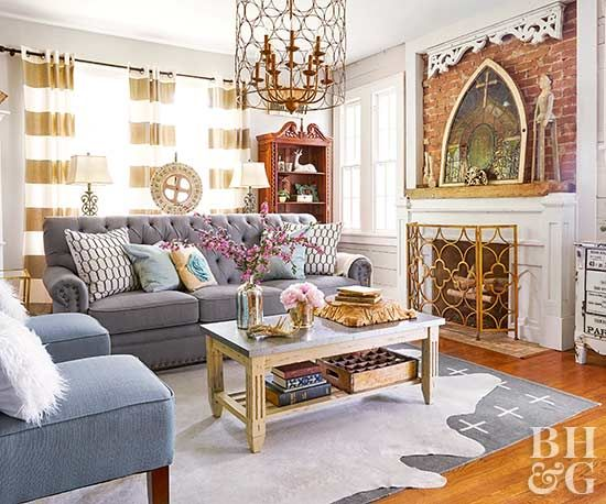 One part rustic and one part refined, this family home packs Texas-size personality and farmhouse charm into every inch of its compact square footage.