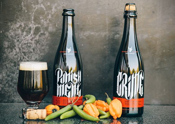 Pepper Infused Beer from Stone Brewing
