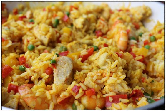 ginger in the basement.: Paella.