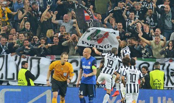 Soccer: Champions League; Juventus-Monaco