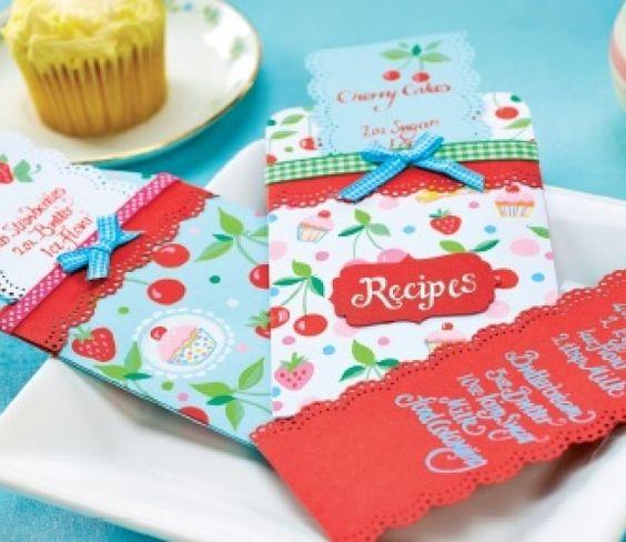 Retro Recipe & Baking Templates
