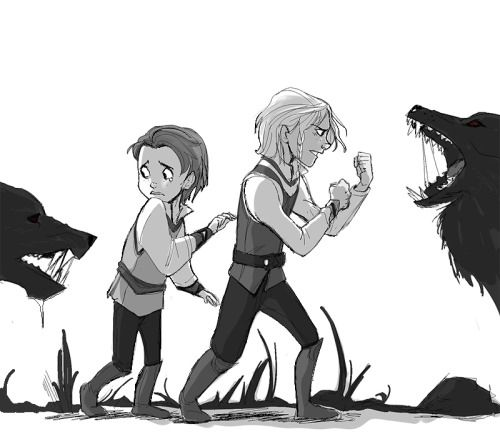 marty-mc:  Never go into the forest at night with your little brother. YOU HAD ONE JOB Thor.