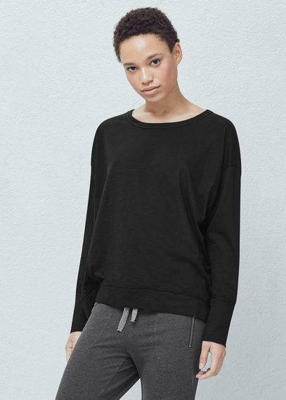 Yoga - camiseta transpirable confort   MANGO