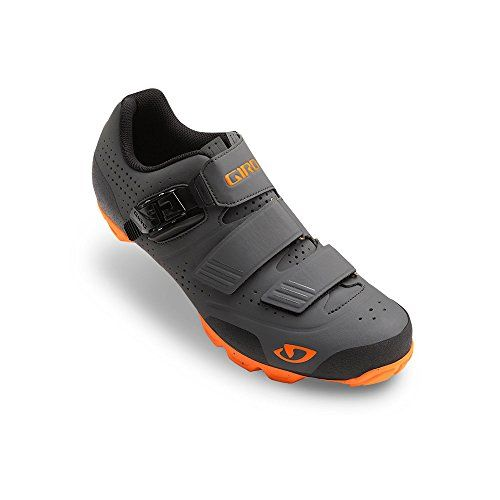 Giro Privateer R Mtb Shoes Dark Shadow Flame Orange 44 Bike