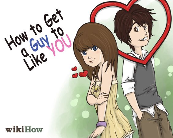 5 ways to get a guy to like you