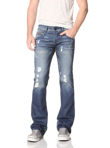 69% OFF Rockstar Men's Bootcut Jeans (Blue) | Men's closet ...