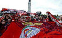 PSP atenta à eventual festa de adeptos do Benfica no Marquês de Pombal