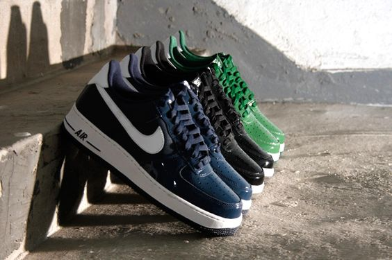 Nike Air Force 1 LE Patent Toe Pack