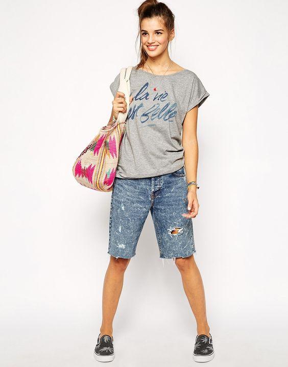 Image 4 - Th Gallery - T-shirt avec imprimé « La Vie En Belle »