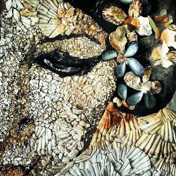 Mosaic detail from Academy of Fine Arts [ #Ravenna #myRavenna]