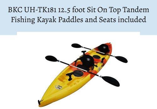 2 Person Sea Kayak Tandem Kayaking Tandem Fishing Kayak Kayaking