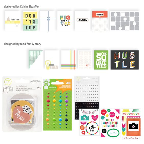 January 2016 This Life Noted add-on by Scraptastic Club