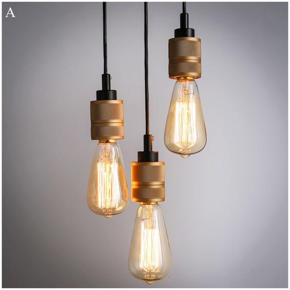 Iluminación - Luces de techo - Lámparas colgantes - Moderna Simple ...