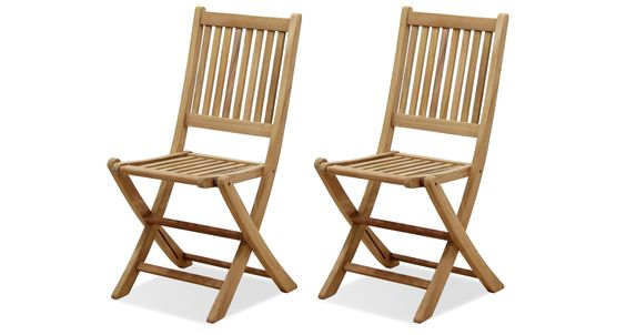 Amazonia Teak London 2-Piece Teak Folding Chair, I like this style of folding chair for Serenity, but not this price.