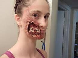 maquillaje corporal de terror - Buscar con Google