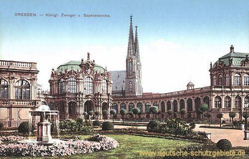 Dresden Dresden Konigreich Sachsen Deutsche Stadte