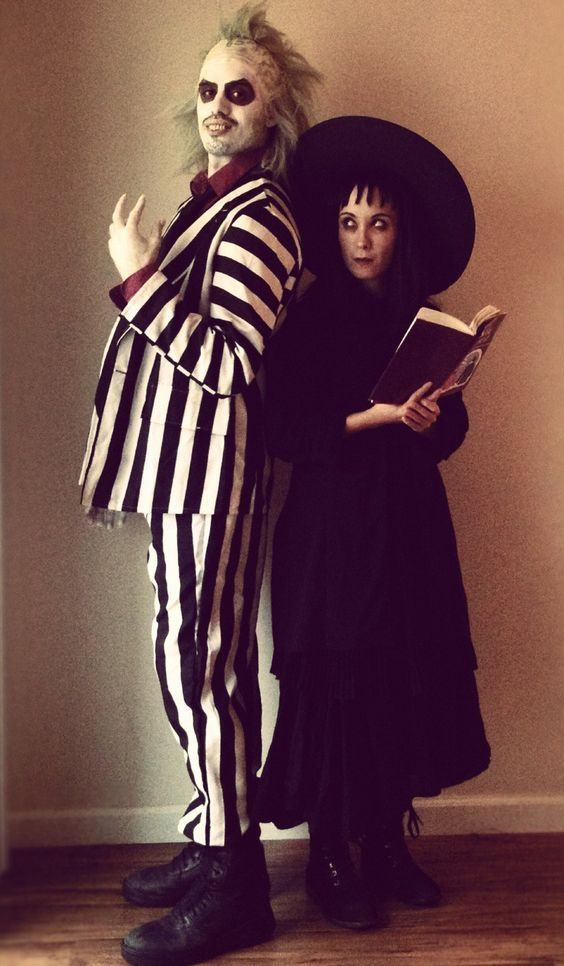 Beetlejuic and Lydia Deetz by xD00Rx.deviantart.com on @deviantART: