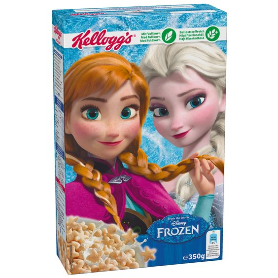 Kellogg's Disney Frozen | Online kaufen im World of Sweets Shop