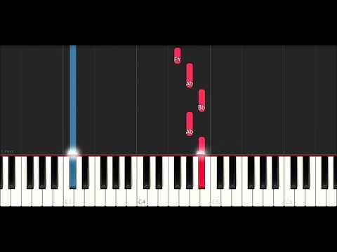 John Legend All Of Me Slow Easy Piano Tutorial By Plutax
