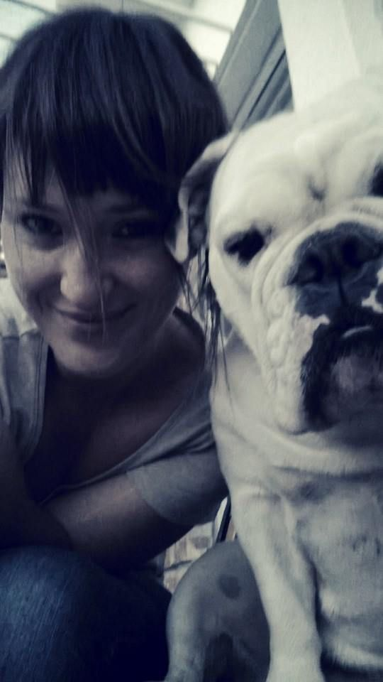 Me and my dog, Daizy
