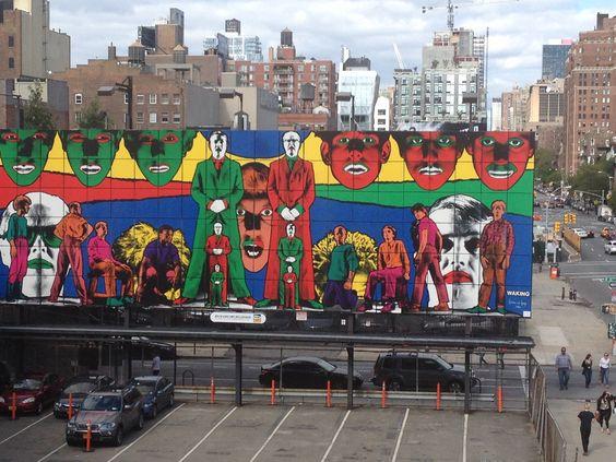 Highline walks on sunday