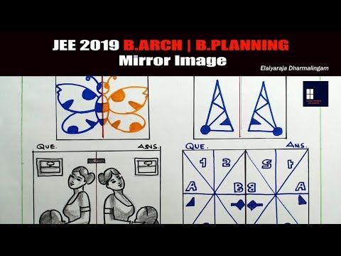 Jee 2019 B Arch B Planning Drawing Question Answer Youtube Basic Drawing This Or That Questions Drawings