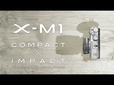 Introducing the Fujifilm X-M1 premium interchangeable-lens camera.