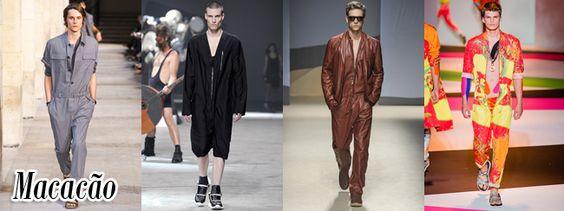 Macacões/Jumpers da Hermès, Rick Owens, Trussardi e Versace - Verão/Summer 2014