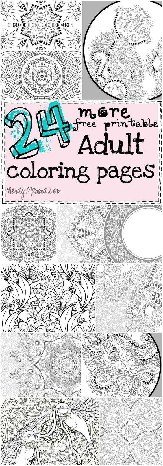 The coolest coloring book ever - This Is The Coolest Set Of Free Printable Adult Coloring Pages Ever There S For The Top Rated Adult Coloring Books And Writing Utensils Including