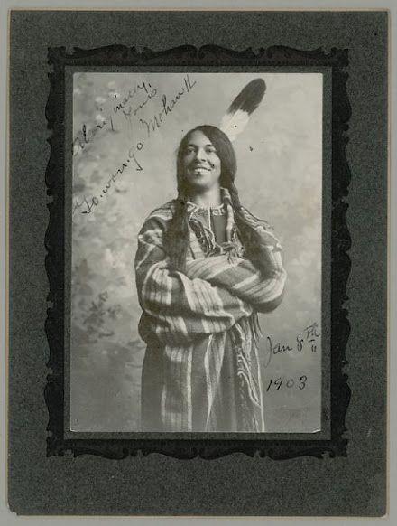 Go-Won-Go (the daughter of Chief Ga-ne-gan) - Iroquois (Mohawk) – 1903
