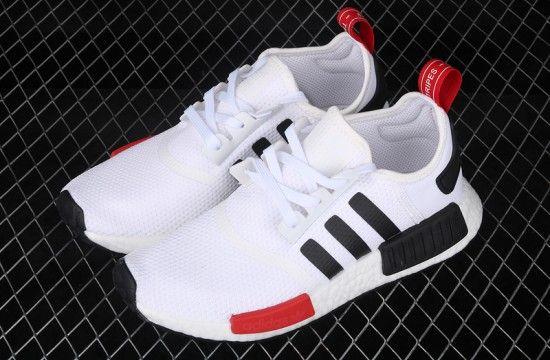 Adidas Nmd R1 White Black Red