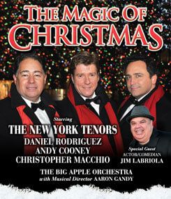 Join us at The VETS on December 3, 2015 as we get into the Christmas spirit with The New York Tenors!