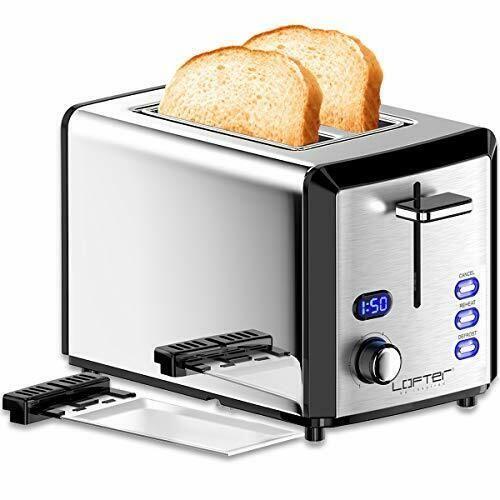 2 Slice Toaster Lofter Mirror Stainless Steel Toaster Extra Wide Slots Toasters Toasters Ideas Of Stainless Steel Toaster Toaster Small Kitchen Appliances
