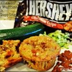 Recipe for Cooking ~ Apple Cinnamon Zucchini Muffins With Crumble Topping