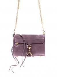Purple Mini Mac Clutch by Rebecca Minkoff