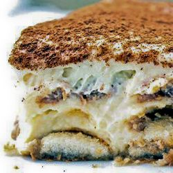 ❥ The easiest Tiramisu you'll ever make, with step by step instructions.