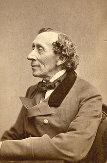 Hans Christian Anderson (1805-1875)    One of Denmark's most famous authors, Anderson was self-educated, encouraged by his self-taught father, who died young.  His stories are reborn with each generation. Remember The Emperor's New Clothes, The Ugly Duckling and The Little Mermaid?