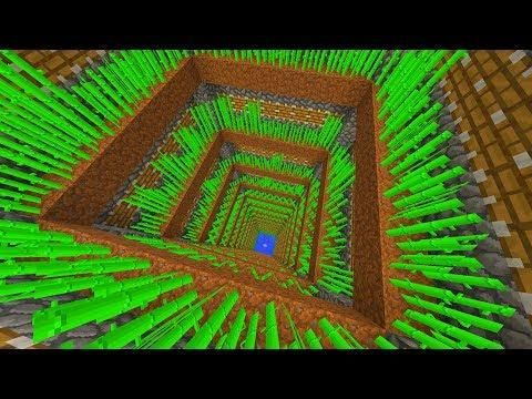 Auto Sugar Cane Farm Made In 24 Hours Minecraft